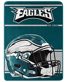 Philadelphia Eagles Micro Raschel Run Blanket