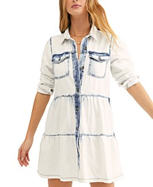Nicole Cotton Denim Shirtdress