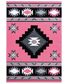 "Bristol Caliente 2050 10486 24 Pink 1'10"" x 2'8"" Area Rug"