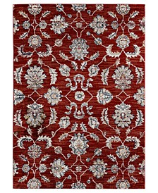 "Century Julius 4500 11238 69 Crimson 5'3"" x 7'2"" Area Rug"