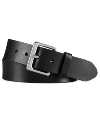 로렌 랄프로렌 Lauren Ralph Lauren Lauren by Ralph Lauren Leather Dress Belt,Black