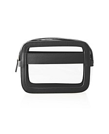 Small Vegan Leather Travel Cosmetic Case