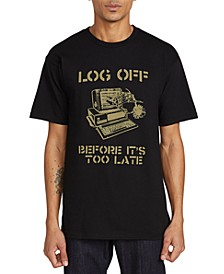 Men's Log Out Graphic T-Shirt