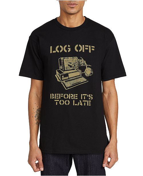 Volcom Men's Log Out Graphic T-Shirt