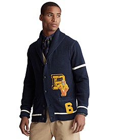 Men's Varsity-Inspired Cardigan