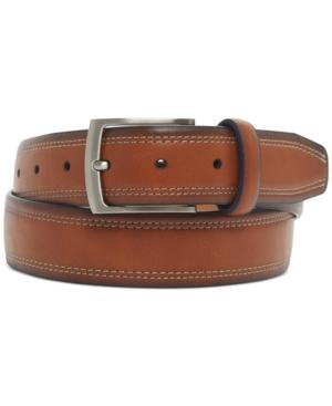 Men's Faux-Leather Casual Belt