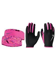 Run Dry Headband & Gloves Set