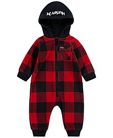 Baby Boys One and Only Arctic Fleece Full-Zip Hooded Coverall