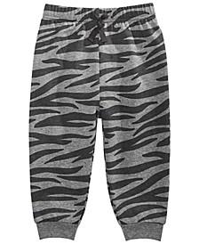 Baby Boys Animal-Print Jogger Pants, Created for Macy's
