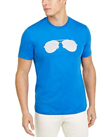 Men's Reflective Aviator T-Shirt