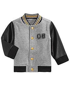 Baby Boys Cotton Bomber Jacket, Created for Macy's
