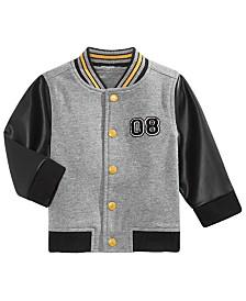 Baby Boys Cotton Bomber Jacket, Created for Macy's