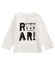Toddler Boys Roar-Print Cotton T-Shirt, Created for Macy's
