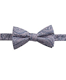 Men's Atwood Paisley Pre-Tied Bow Tie, Created for Macy's