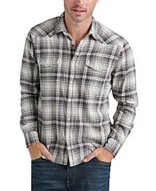 Men's Santa Fe Plaid Snap Shirt