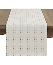 Square Stitched Tablecloth