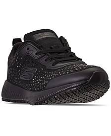 Women's Work Relaxed Fit Slip-Resistant Athletic Work Sneakers from Finish Line