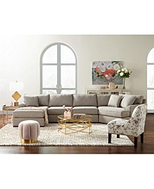 Carena Fabric Sectional Collection, Created for Macy's