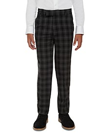 Big Boys Shadow Check Dress Pants