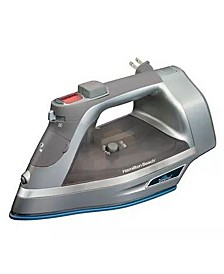 Digital Control Durathon Nonstick Soleplate Iron with Retractable Cord