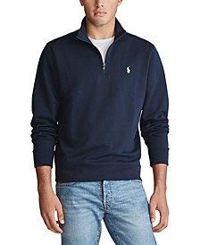 Men's Double-Knit Quarter Zip Pullover