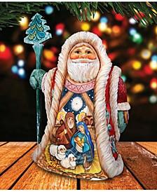 Nativity Santa Figurine