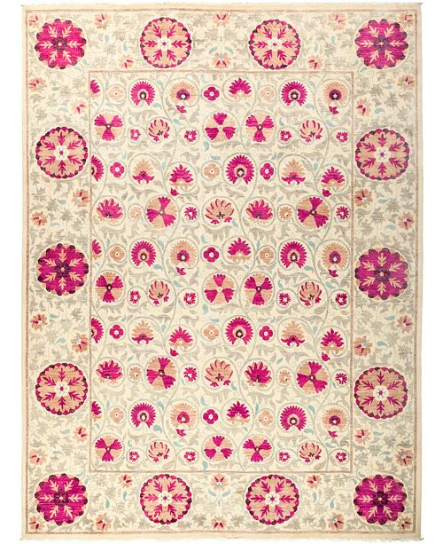 """Timeless Rug Designs CLOSEOUT! One of a Kind OOAK2711 Red 9'2"""" x 12'1"""" Area Rug"""