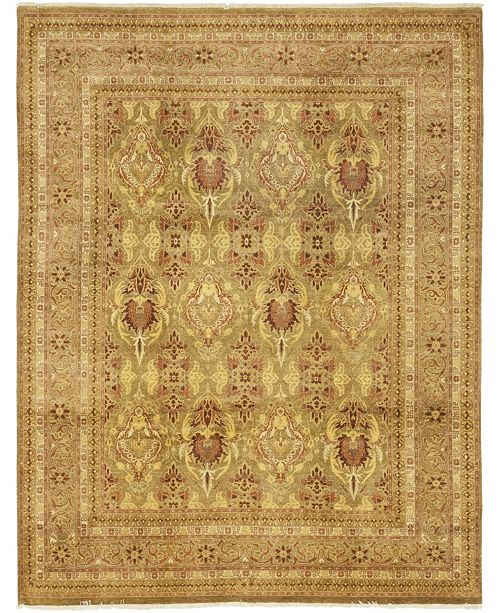 "Timeless Rug Designs CLOSEOUT! One of a Kind OOAK88 Flax 9' x 11'8"" Area Rug"