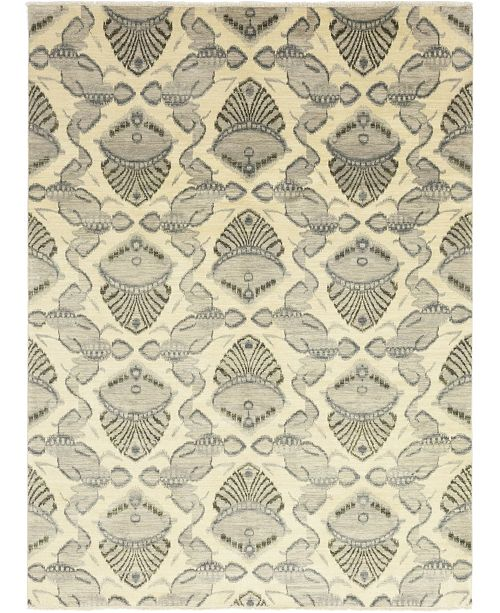 "Timeless Rug Designs CLOSEOUT! One of a Kind OOAK271 Beige 9' x 12'2"" Area Rug"