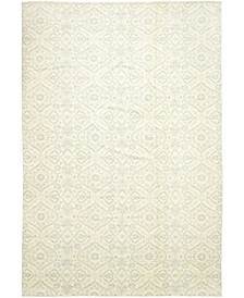 "CLOSEOUT! One of a Kind OOAK344 Ivory 12'1"" x 17'10"" Area Rug"