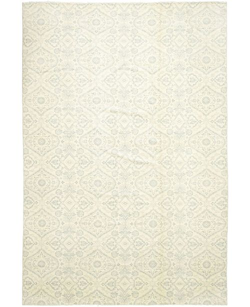 """Timeless Rug Designs CLOSEOUT! One of a Kind OOAK344 Ivory 12'1"""" x 17'10"""" Area Rug"""