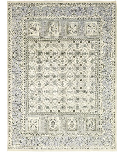 """Timeless Rug Designs CLOSEOUT! One of a Kind OOAK376 Bone 9'1"""" x 12'4"""" Area Rug"""