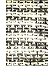 """CLOSEOUT! One of a Kind OOAK409 Ivory 6' x 9'4"""" Area Rug"""