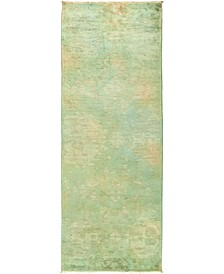 """CLOSEOUT! One of a Kind OOAK497 Multi 3' x 8'4"""" Runner Rug"""
