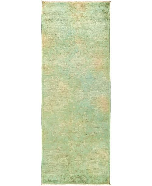 """Timeless Rug Designs CLOSEOUT! One of a Kind OOAK497 Multi 3' x 8'4"""" Runner Rug"""