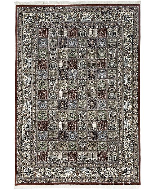 """Timeless Rug Designs CLOSEOUT! One of a Kind OOAK598 Cherry 6'10"""" x 9'7"""" Area Rug"""