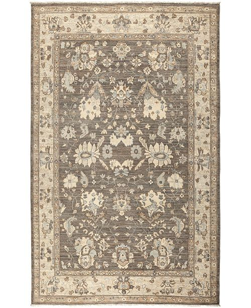 """Timeless Rug Designs CLOSEOUT! One of a Kind OOAK618 Mocha 6' x 8'10"""" Area Rug"""