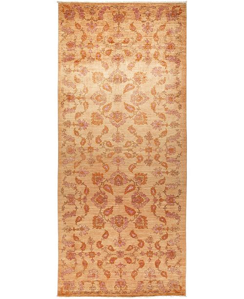 """Timeless Rug Designs CLOSEOUT! One of a Kind OOAK628 Peach 6'1"""" x 13'9"""" Runner Rug"""
