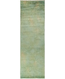 """CLOSEOUT! One of a Kind OOAK833 Multi 3'2"""" x 10'6"""" Runner Rug"""