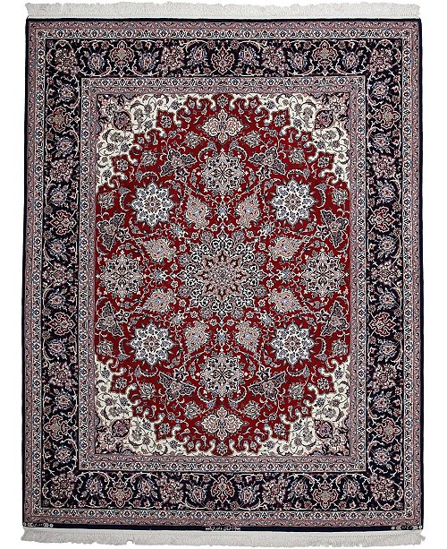 """Timeless Rug Designs CLOSEOUT! One of a Kind OOAK2675 Cherry 6'6"""" x 8'4"""" Area Rug"""