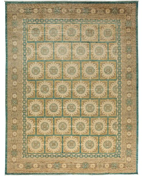 "Timeless Rug Designs CLOSEOUT! One of a Kind OOAK3601 Hazelnut 9'3"" x 11'10"" Area Rug"