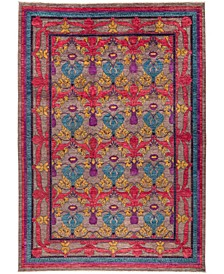 """CLOSEOUT! One of a Kind OOAK3018 Red 10'2"""" x 14'1"""" Area Rug"""