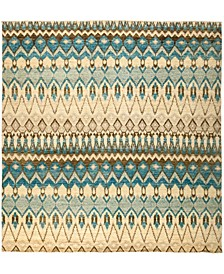 """CLOSEOUT! One of a Kind OOAK2962 Teal 9'9"""" x 10'2"""" Area Rug"""