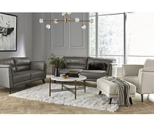 Lucais Leather Sofa Collection, Created for Macy's