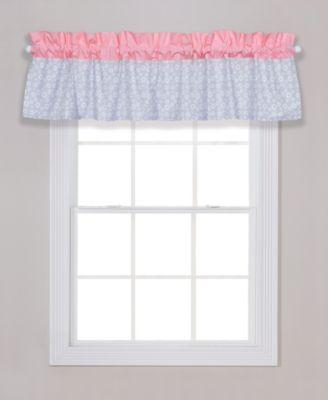 Playful Floral Window Valance