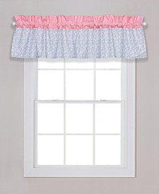 Playful Floral Window Valance