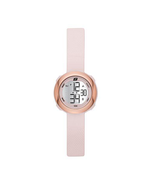 Skechers Ladies' Sunridge Digital Silicone Strap Watch 30mm