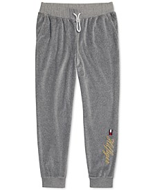 Women's Jogger Pants with One-Handed Drawstring