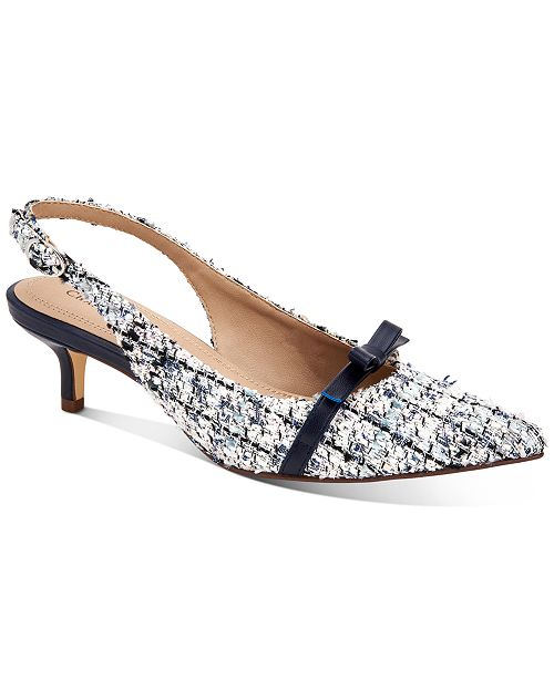 Charter Club Gilaa Slingback Pumps, Created for Macy's