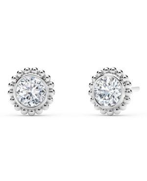 Forevermark Tribute Collection Diamond (1/3 ct. t.w.)Studs with Beaded Detail in 18k Yellow